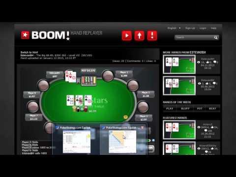 Mãos de Poker Comentadas #1