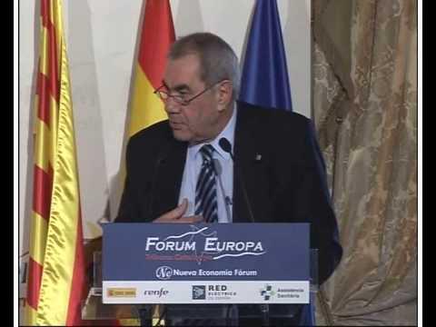 Fórum Europa Tribuna Catalunya con Don Ernest Maragall