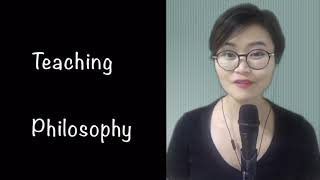 Molly's philosophy of teaching and learning mandarin Chinese