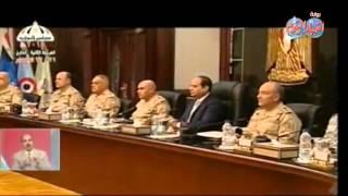 المجلس الأعلى للقوات المسلحة يستعرض الأوضاع الأمنية فى سيناء
