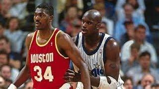 【NBA】ドリームシェイクVS怪物!真のセンターは技かパワーか。【センター】Post Player【Center】