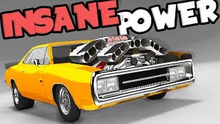 The Biggest, Baddest, FASTEST Drag Car in BeamNG! - BeamNG Drive