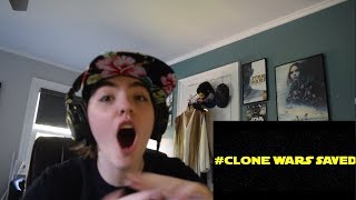 NEW CLONE WARS  - Trailer Reaction!