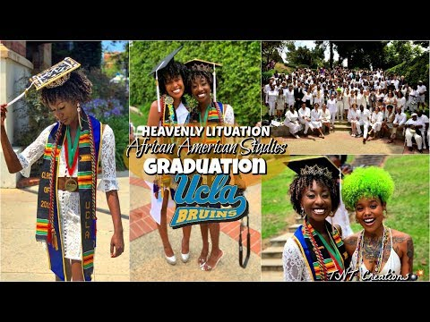 UCLA African American Studies Graduation | Heavenly Lituation