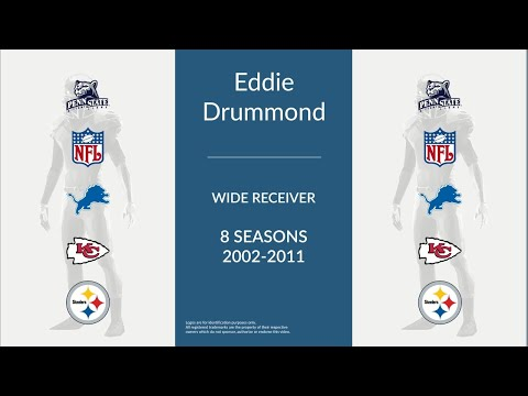 Eddie Drummond: Football Wide Receiver and Return Specialist