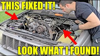 First Start Of The Abandoned Fastest SUV In The World & What I Found  Inside The Engine! DIY FIX!