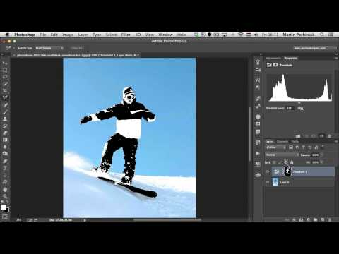 The Ultimate Guide to Adjustment Layers - Invert, Posterize, and Threshold