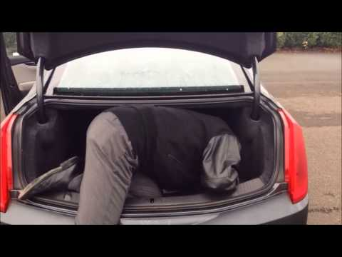 2013 Cadillac XTS Trunk space - YouTube
