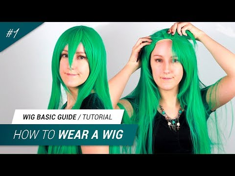 #1 How to wear a wig for cosplay  | Jak Cosplay