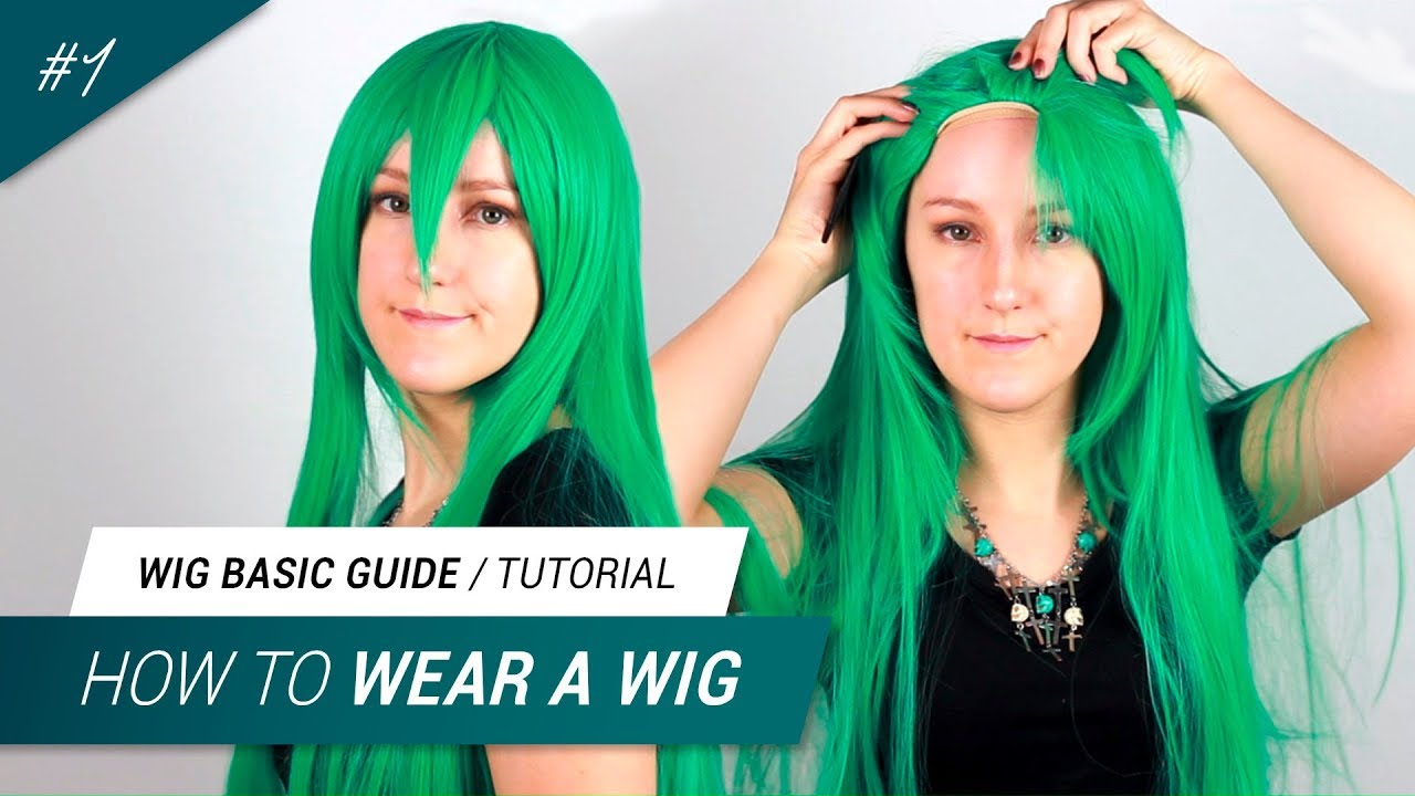 1 How To Wear A Wig For Cosplay Jak Cosplay Youtube