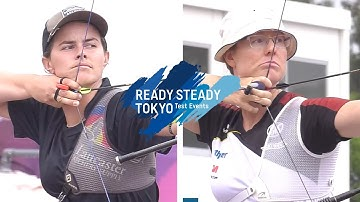 Olivia Hodgson v Lisa Unruh – recurve women 1st round | Tokyo 2020 Olympic Test