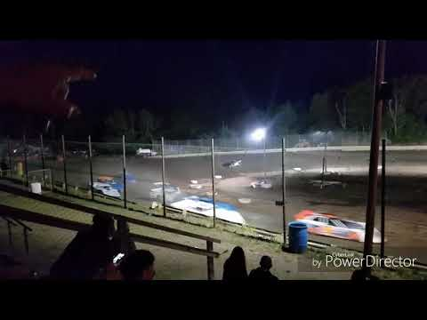 Late Model B Main 1 Hilltop Speedway May 31st 2019