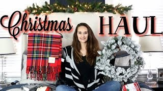 🎄 CHRISTMAS DECOR HAUL! 🎄 | Walmart, Target, Home Goods & MORE!