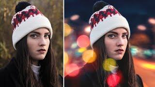 Photoshop Arkaplan Değiştirme | Bokeh Efekti | Fotoğraf Renk Efektleri