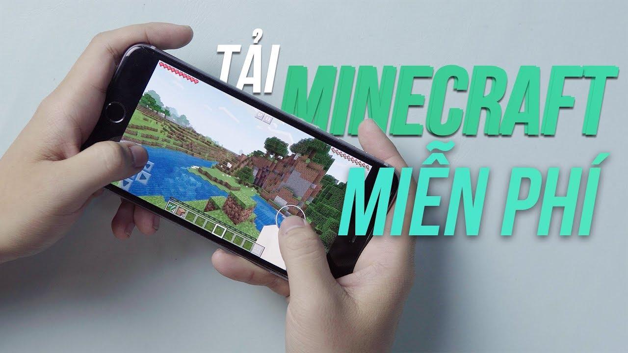 Hướng dẫn tải Minecraft cho iPhone 2019 hoàn toàn miễn phí