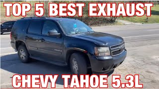Top 5 BEST Exhaust Set Ups for Chevy Tahoe 5.3L!