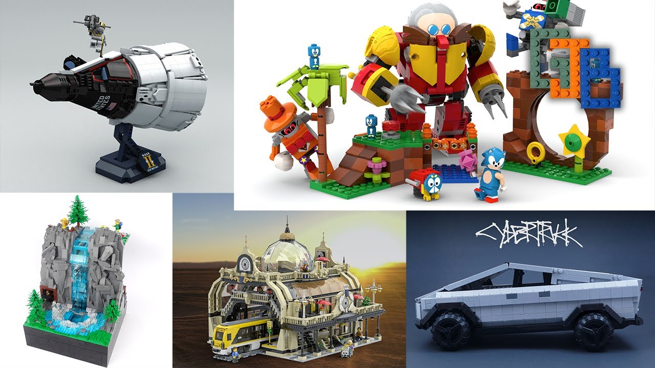 The First 26 Lego Ideas 2020 Projects In Review Stage Gjbricks