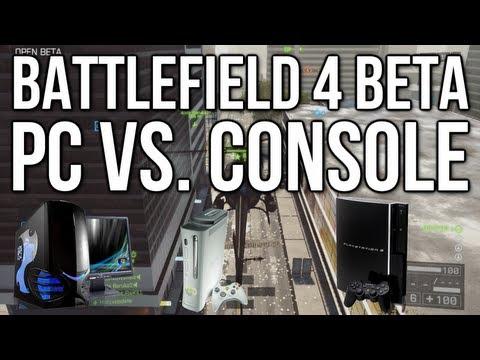 Battlefield 4 Beta - PC vs. Console - Player Base & Graphics Comparison