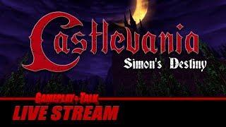 Gameplay and Talk Live Stream - Castlevania: Simon