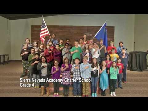 One Nevada Morning Pledge - Sierra Nevada Academy Charter School Grade 4