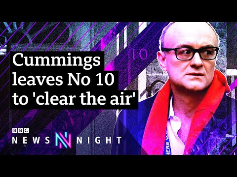 Dominic Cummings: UK PM's top adviser leaves Downing Street - what now? - BBC Newsnight
