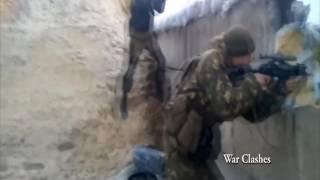 Чеченские боевики убивают Украинцев UKRAINE WAR 2016