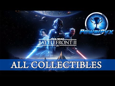 Star Wars Battlefront 2 - All Collectible Locations (23 Collectibles)