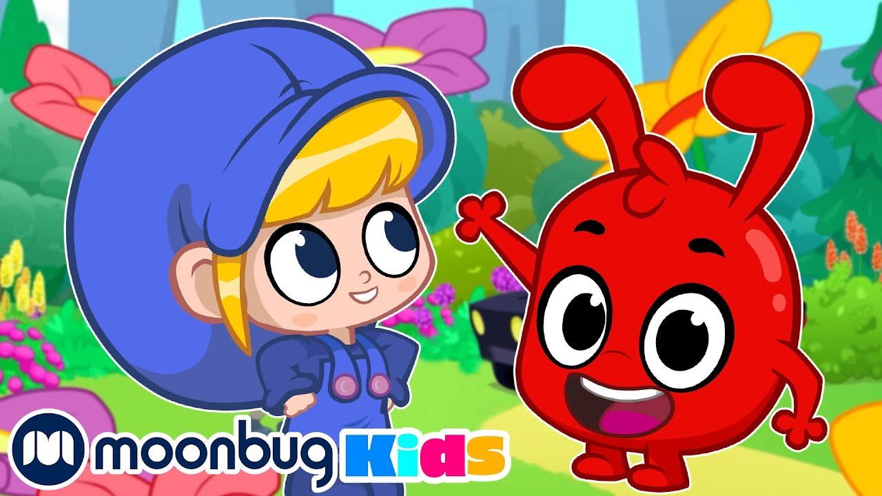 MORPHLE - The Giant Flower Park | Kids Fun & Educational Cartoons | Moonbug Play and Learn