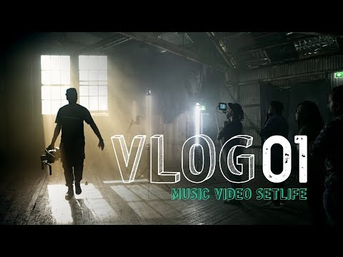 VLOG #1 - Behind the scenes of a music video