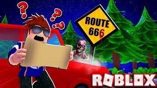 DONT GO CAMPING ON ROUTE 66!! - ROBLOX