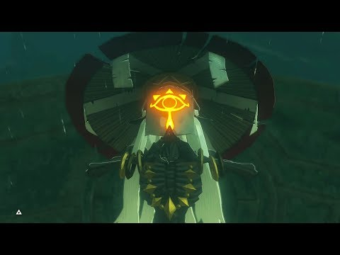 Zelda BOTW DLC 2 - Monk Maz Koshia Final Boss Fight and Ending (Master Mode)