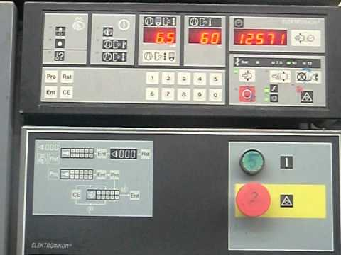 compressor atlas copco ga55 youtube rh youtube com Atlas Copco GA45 Suction Unloader Atlas Copco GA45 Piping