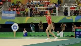 Fan Yilin CHN Qual Fx Olympics Rio 2016