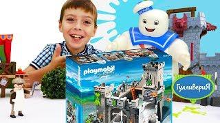 Видео для детей. Конструктор Плеймобил ( Playmobil). Игры для мальчиков