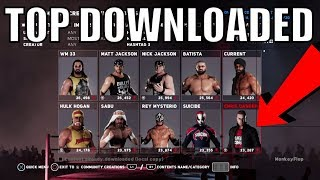 TOP DOWNLOADED WWE 2K18 Wrestlers PS4 Community Creations - Top Downloaded 2018