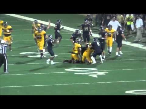 South Dakota Mines Football Vs. Black Hills State (Sept. 14, 2013)