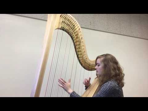 Sunshine on my Shoulders by John Denver- Harp Arrangement by Natalie Pate