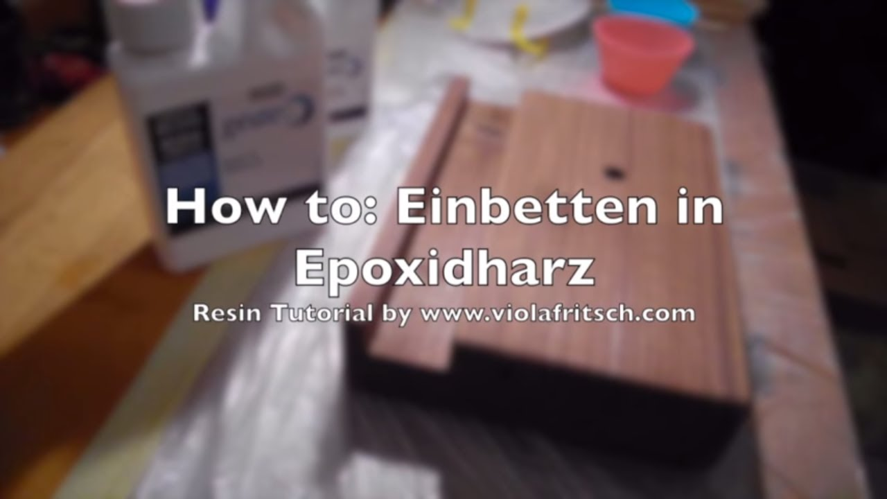 Glas Holz Einfassen How To Epoxidharz Tutorial Gießen In Holz Für Beginners Teil 1 Crystal Epoxy Resin Tutorial