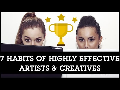 the-7-habits-of-highly-effective-artists-&-creative-entrepreneurs