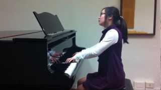 Anqi Chen - Bach clavicembalo ben temperato vol 1 n 9 in mi maggiore