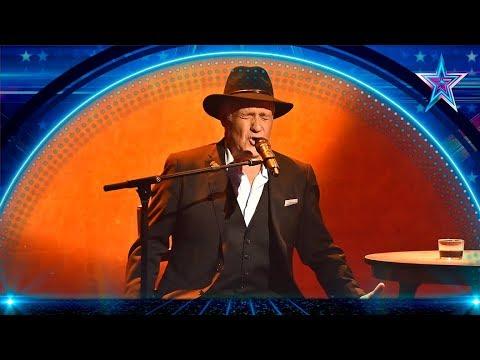 José Antonio Emociona Con Su Arte Y Sensibilidad Semifinal 1 Got Talent España 5 2019 Youtube