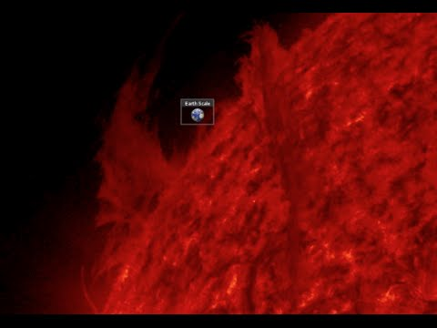 Large SOHO Plasma Flow | S0 News January 25, 2015