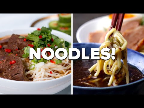 Noodles Around The World • Tasty Recipes