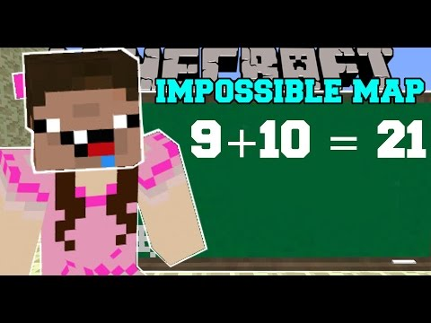 Thumbnail: Minecraft: THE IMPOSSIBLE MAP (GET READY TO FAIL!) Custom Map