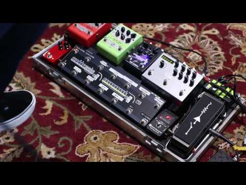 Andy Timmons demonstrates his signature Carl Martin Compressor pedal at The Guitar Sanctuary