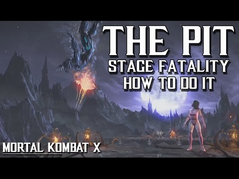 Mkx The Pit Stage Fatality And How To Do It Please Read