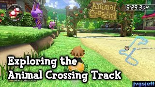 Mario Kart 8 - Exploring the Animal Crossing Track
