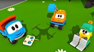 Çizgi film Leo Junior - Leo'nun yeni oyuncağı - Quadrokopter!