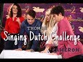 Can DOVE THOMAS And CAMERON SING In DUTCH mp3