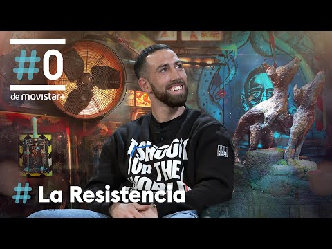 LA RESISTENCIA - Entrevista a Sandor Martín   #LaResistencia 27.04.2021